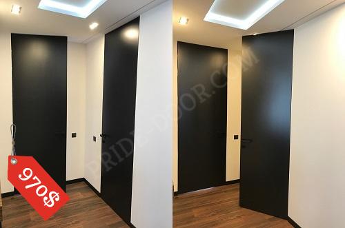 Дверь крашеная без наличников до потолка ( без верхней планки ) PRIDE DOOR.