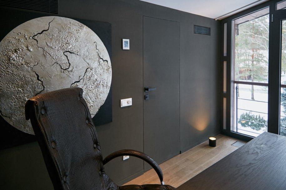 Скрытые двери в стиле хай-тек