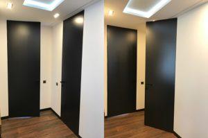 Двери скрытого монтажа до потолка