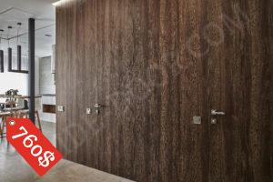 Дверь скрытого монтажа со стеновыми панелями обшивка ДСП - PRIDE DOOR