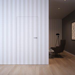 Межкомнатная скрытая дверь