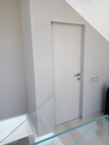 Дверь без наличников pride-door в гардеробную облицовка панель акриловая с матовым покрытием Gizir