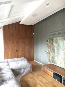Двери без наличников стеновые панели шпон орех натуральный