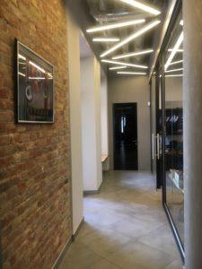 Прайд Стеклянные двери без наличников для офиса